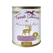 Terra Canis Senior Menu, Game with Tomato, Apples and Herbs 800 g