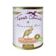 Terra Canis Dinde Senior, papayes, bourrache et plantes médicinales 6x800g commandez