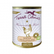 Terra Canis Chicken Senior with Cucumber, Pumpkin & Health Herbs 800g