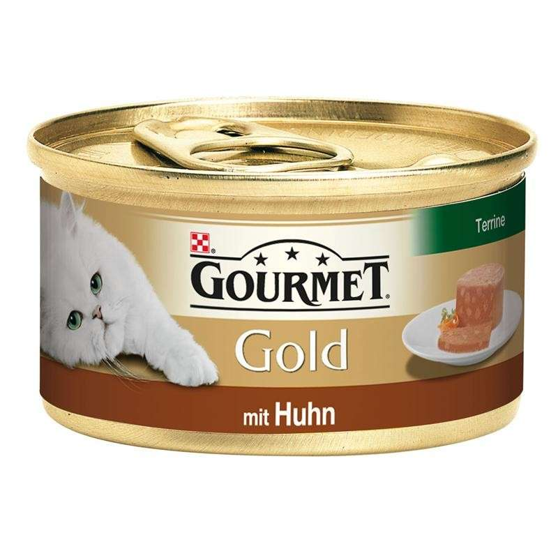 Purina Gourmet Gold - Terrine with Chicken 85 g