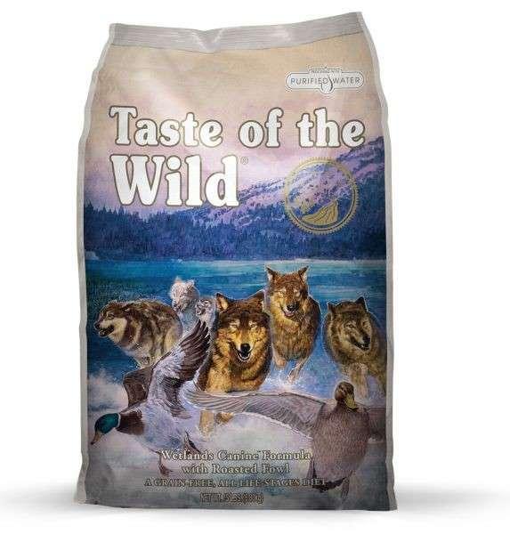 Taste of the Wild Wetlands Canine 2.27 kg, 13.60 kg osta edullisesti