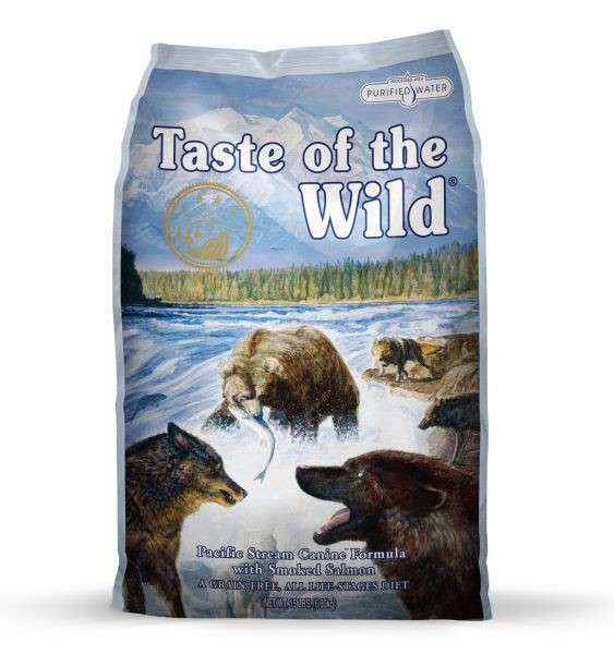 Taste of the Wild Pacific Stream 13.6 kg kjøp billig med rabatt