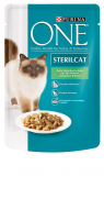 Purina ONE Sterilcat with turkey and green beans Art.-Nr.: 11909