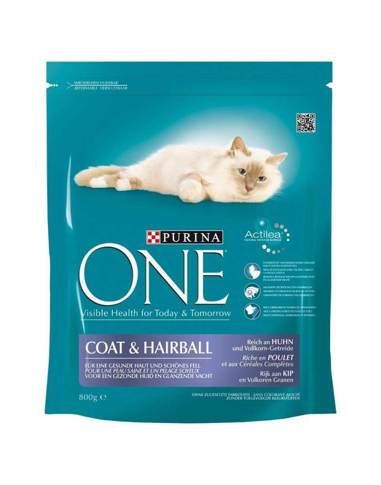 Purina ONE Coat & Hairball Kylling 1.5 kg