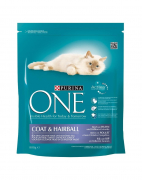 Purina ONE Coat & Hairball rich in chicken