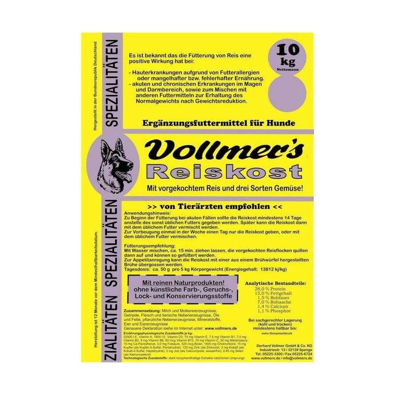 Vollmer's Alimento de Arroz 4019861000131 opinião
