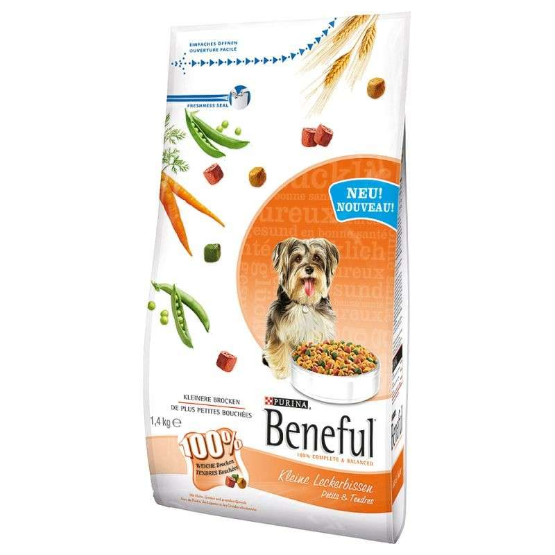 Purina Beneful Petits & Tendres pour Chien 1.4 kg
