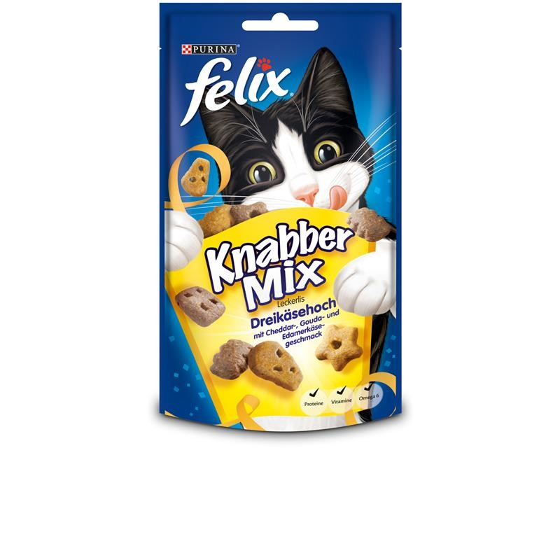 Felix Snacks Party Mix Trois Fromages 60 g