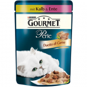 Purina Gourmet Perle - Duetto di Carne with Veal and Duck 85 g