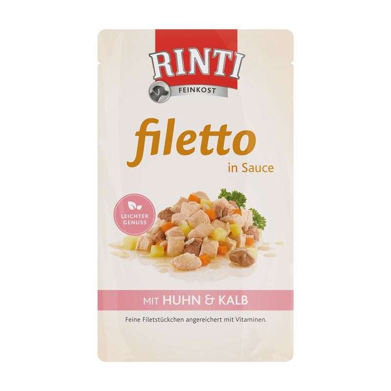Rinti Filetto in Sauce Pollo y Ternera 18x125 g, 125 g