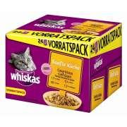 Whiskas   Comida húmeda gatos  : Bolsitas Multipack Cocina Suave -  Selección a la Plancha con Aves de Corral 24x85g compra barato