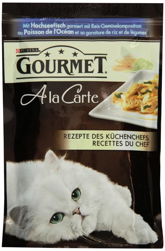 Purina Gourmet A la Carte åbne hav Fisk til ris-vegetabilsk sammensætning 85 g