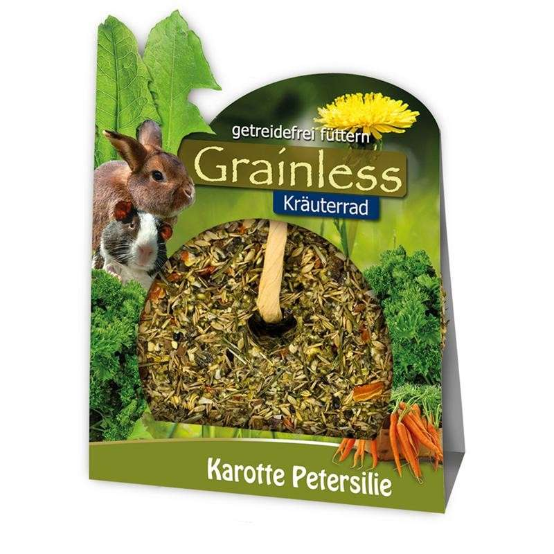 JR Farm Grainless Herb Wheel with Carrots and Parsley 140 g