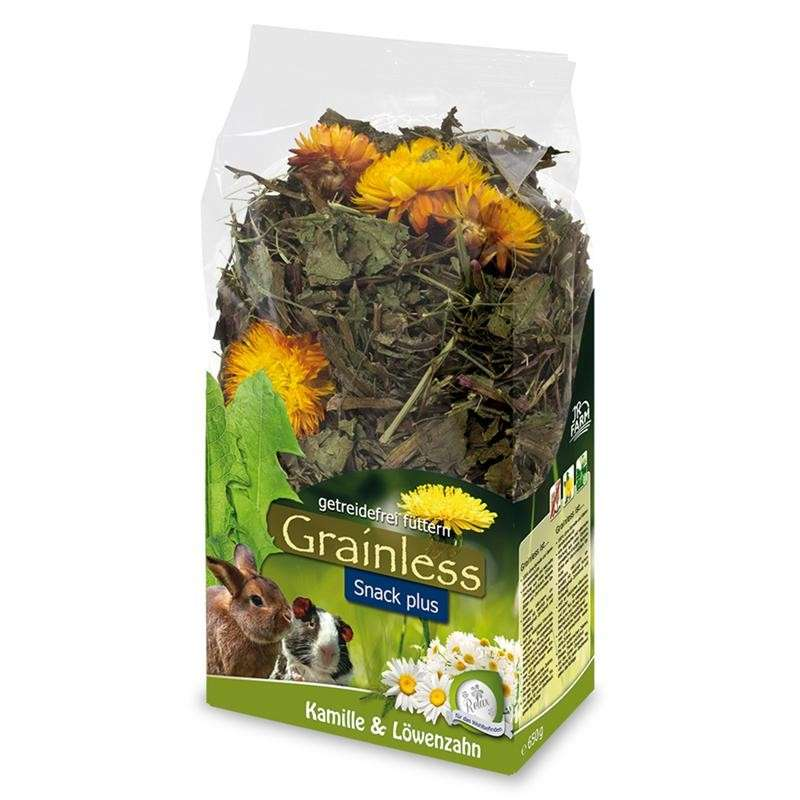 Grainless Camomile & Dandelion by JR Farm 100 g buy online