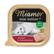 Miamor Milde Maaltijd Kattenvoer Senior Rund & Kip 100 g