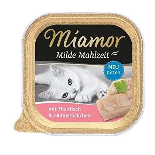 Miamor Comida Suave Kitten Atún y Trozos de Pollo 100 g