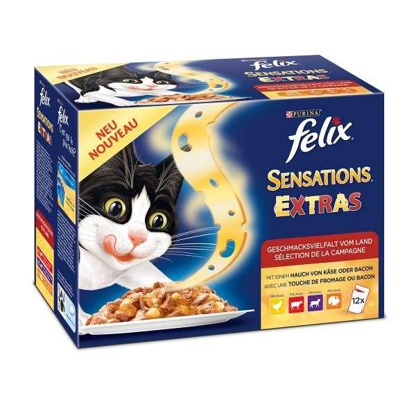 Felix Sensations Extra in Gelei Van land 12x100 g