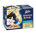 Felix Sensations Extras Sélection de Poissons 12x100 g