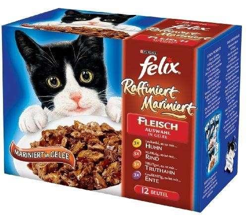Felix Raffiniert Mariniert Mix de Carne 6x12x100 g