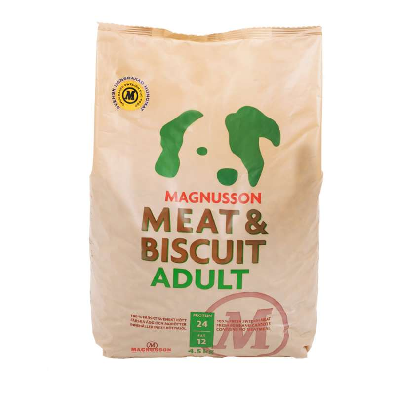 Magnusson Meat & Biscuit Adult 4.5 kg, 14 kg