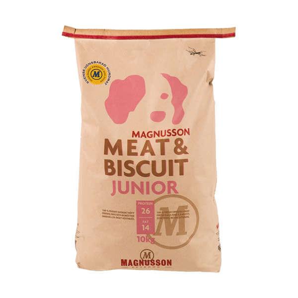 Magnusson Meat & Biscuit Junior 10 kg 7350033850206 erfaringer