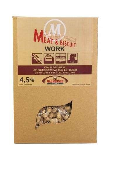 Magnusson Work Meat & Biscuit 14 kg, 4.50 kg