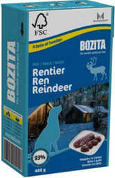 Bozita Tetra Dog Rendier 480 g