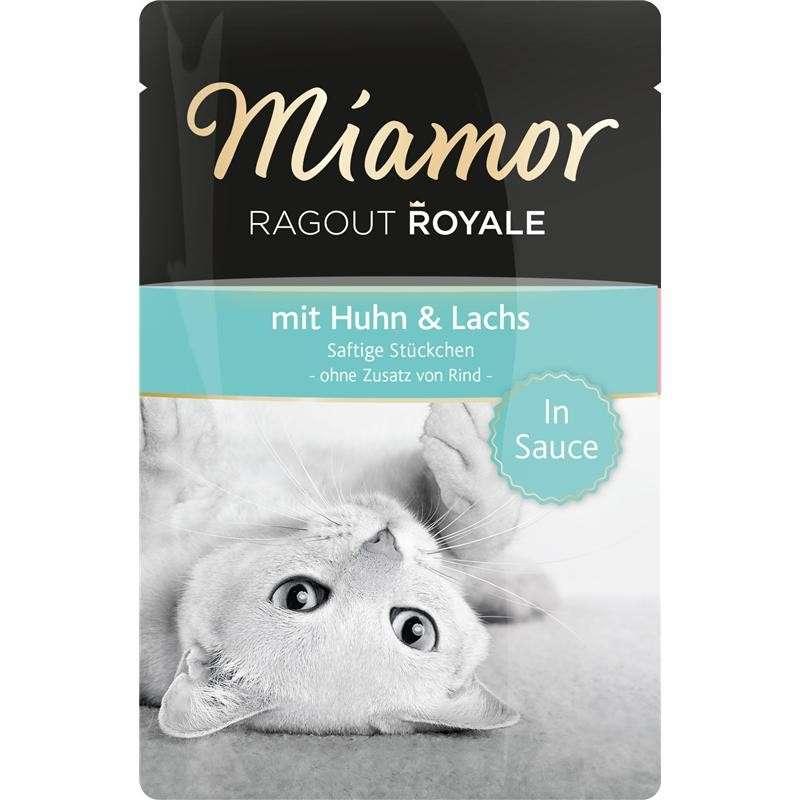 Comida húmeda Ragú Royale Pollo y Salmón 100g por Miamor сompra justa y convenientemente con un descuento