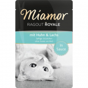 Miamor Ragout Royale mit Huhn & Lachs 100g