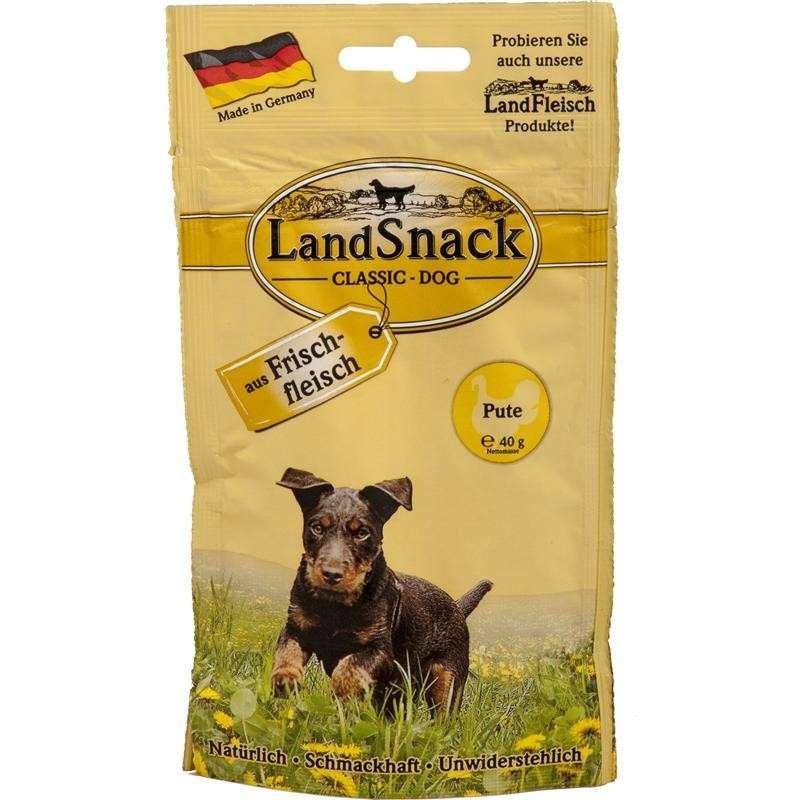 Landfleisch LandSnack Classic Dog Kalkoen 40 g