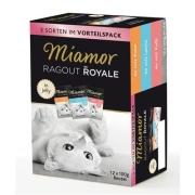 Miamor Megapack Miamor Ragout Royale in jelly Kattenvoer 12x100g  korting