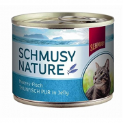 Schmusy Natural Ocean Fish Pure Tuna in Jelly 185 g