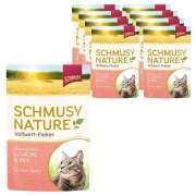 Schmusy Nature Whole Food Flakes Salmon & Rice 100 g