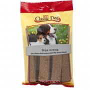 Poultry Snacks Classic Dog Snack Strips with Duck 10 g