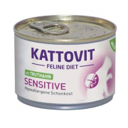 Kattovit Feline Diet Sensitive Pavo 175 g