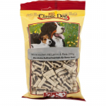 Classic Dog Snack Mini Bones with Lamb & Rice 200 g
