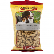 Classic Dog Snack Mini Bones with Poultry 200 g