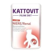 Kattovit Feline Diet Niere/Renal Vaca 85 g online encomendar
