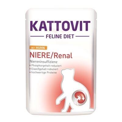 Kattovit Feline Diet Renal con Pollo 85 g 4000158770271 opiniones