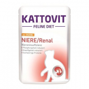 Kattovit Feline Diet Renal with Chicken 85 g