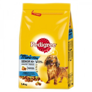 Pedigree Senior Mini con pollo 1.4Kg