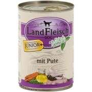 Landfleisch Dog Junior Turkey with fresh Vegetables Can 800 g