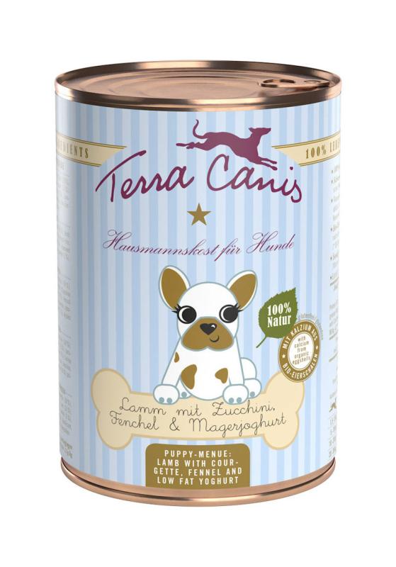 Terra Canis Puppy Menu, Lam met Courgette, Venkel en Magere Yoghurt 800 g