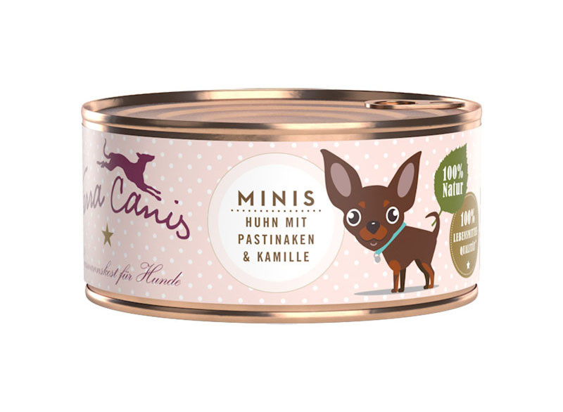 Terra Canis Minis - Chicken with Parsnips & Chamomile 100 g