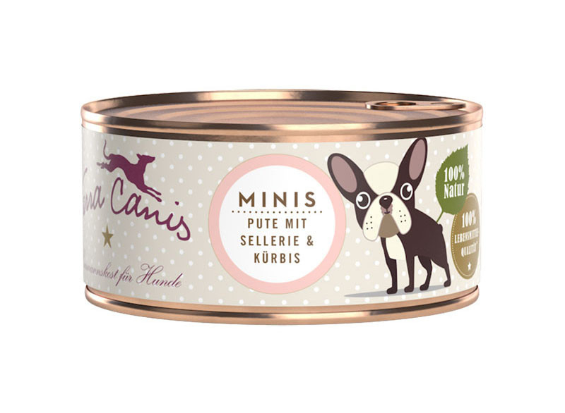 Terra Canis Minis - Turkey with Celery and Pumpkin 100 g
