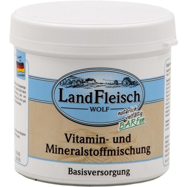 Landfleisch Wolf Vitamine-Mineraal Mengsel 400 g 4003537905004