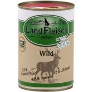 Landfleisch Wolf Sensitive 100% Venison Can 400 g