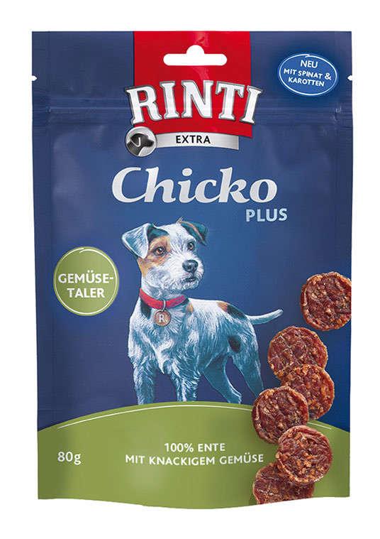 Rinti Extra Chicko Plus Groenten Munten met Eend 80 g