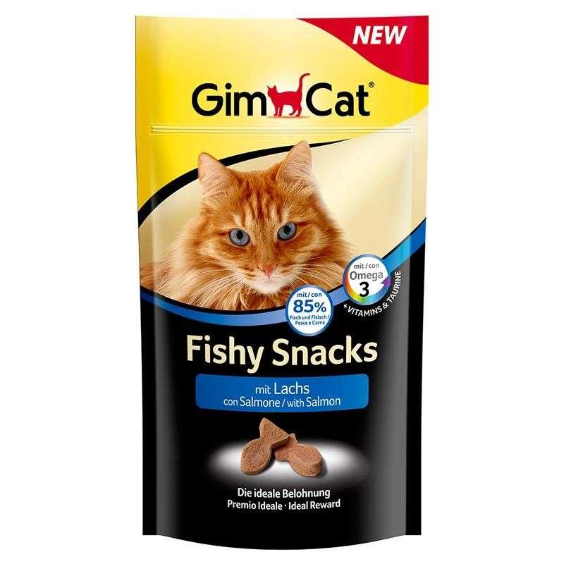 GimCat Fishy Snacks met Zalm 35 g
