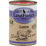 Landfleisch Wolf Sensitive 100% Lamb Can Art.-Nr.: 12220